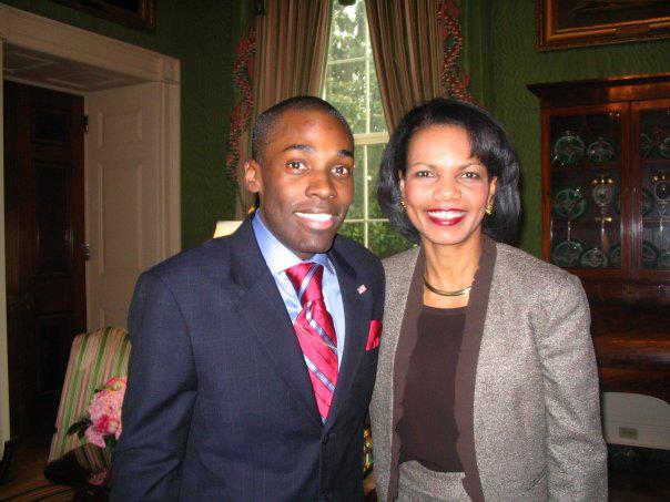 White House Green Room w Sec. Condoleeza Rice