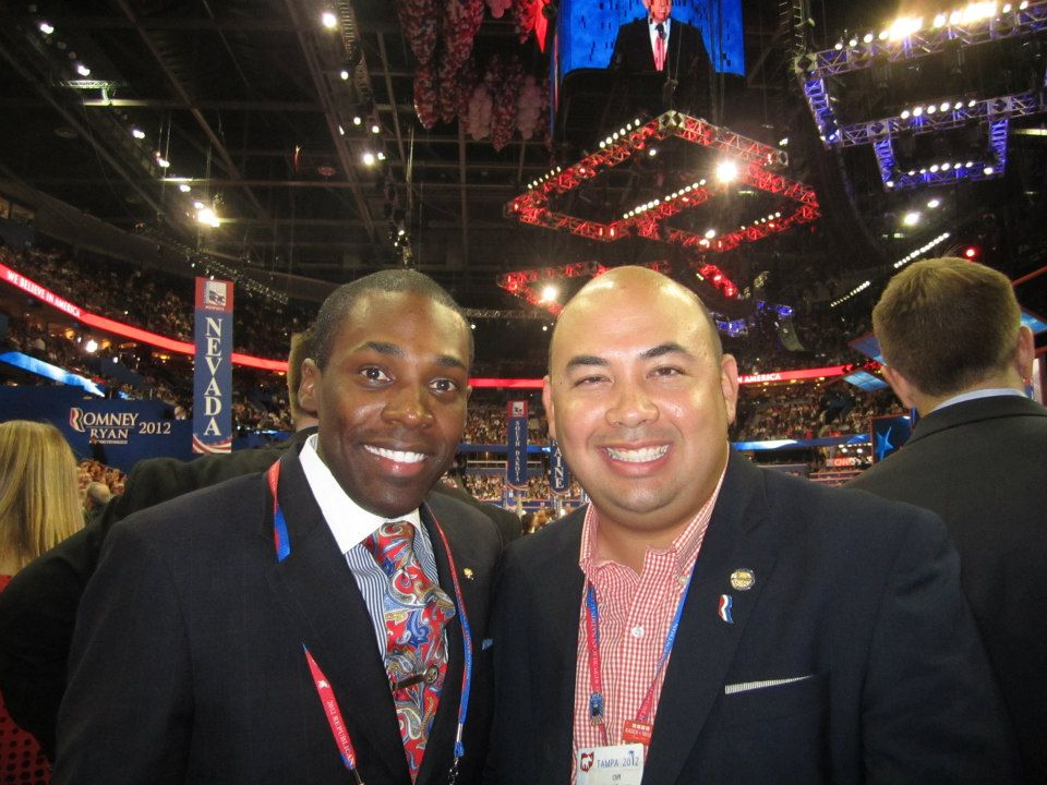 2012 GOP Convention w/ OH Speaker of the House Cliff Rosenberger