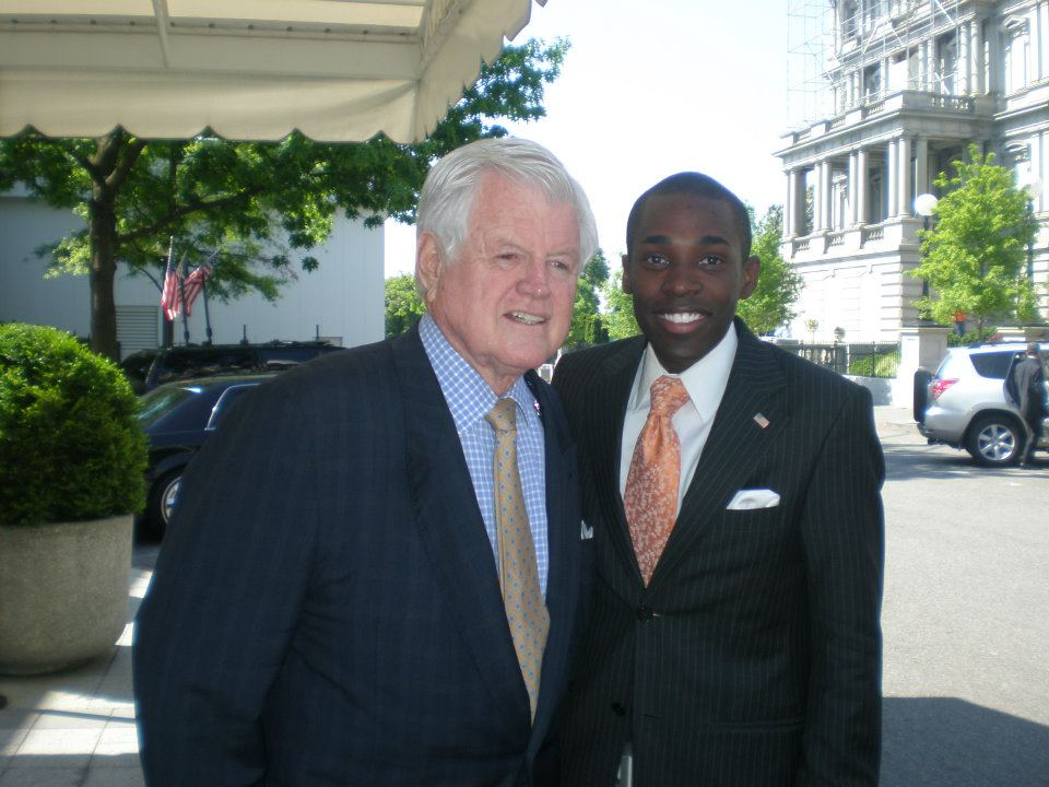 West Wing w/ Sen. Ted Kennedy