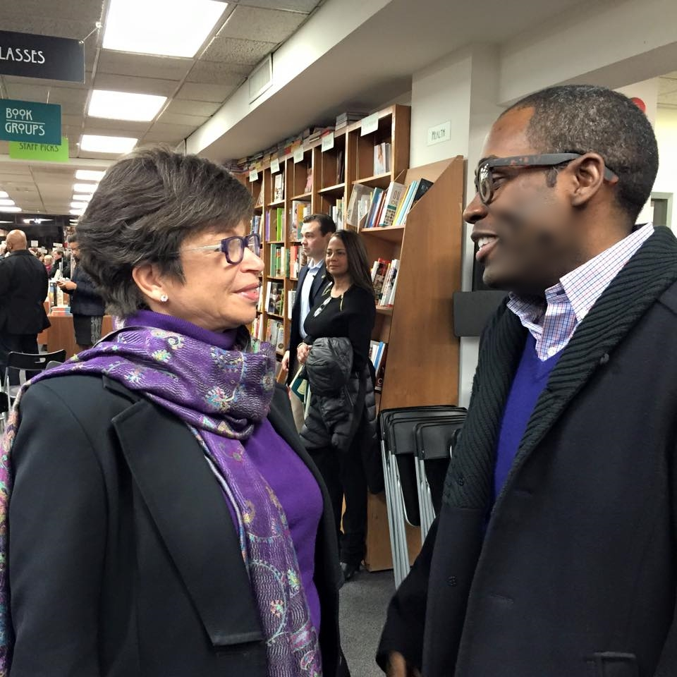 Speaking w/ White House Sr. Advisor Valerie Jarrett