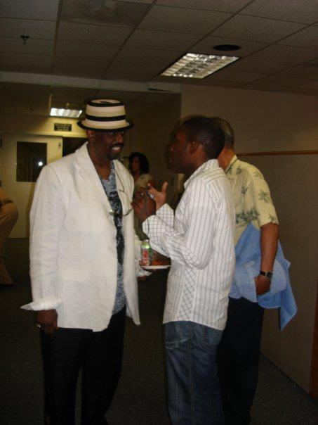 Backstage w/ Otis Williams of The Temptations
