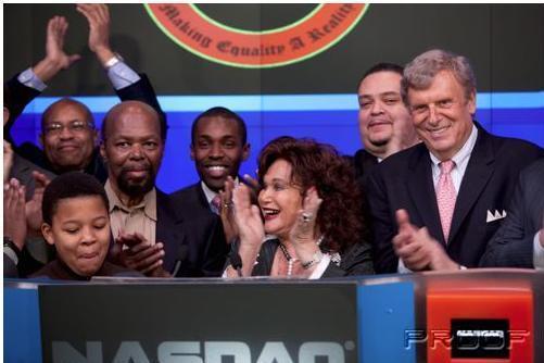 NASDAQ Closing Bell w/ CORE