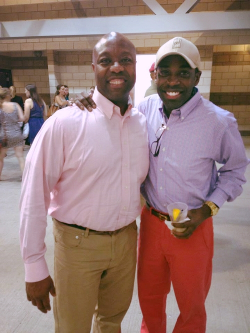 Congressional Baseball Game w/ Sen. Tim Scott