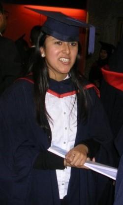 - Me at my Post Graduation ceremony