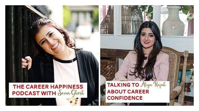 In the first interview of the career happiness podcast I spoke to the inspiring @coach_aliya.  Aliya is a confidence coach who helps women feel more confident in their lives. We spoke about what confidence means. Women empowerment. Running a business and what it's like to be unhappy at work.  To listen to the full episode please go to the link in the bio.  I would love to know what you think about confidence and this  episode.