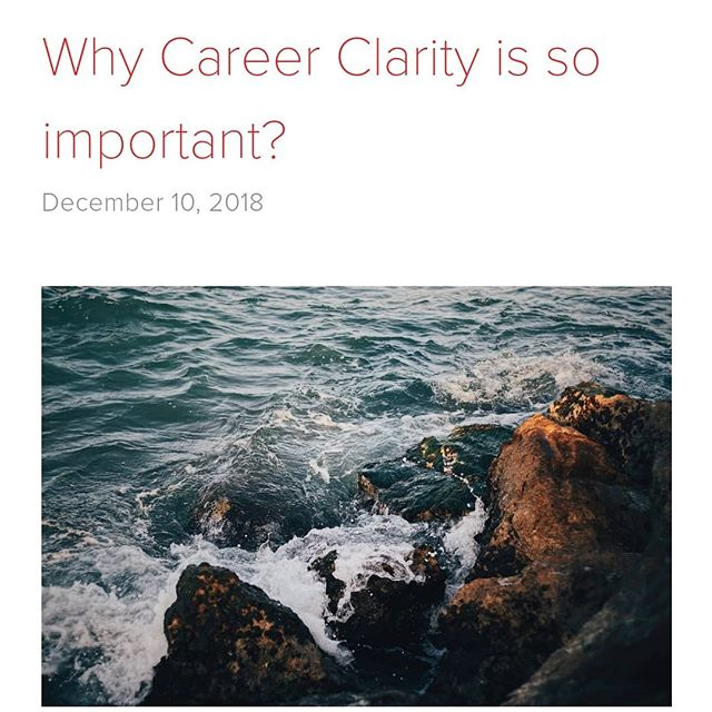I wrote this blog post because I know alot of my clients really struggle with understanding what they want.  Career clarity doesn't happen over night it can take time. I have been on quite a journey with it myself.  If you are confused about your career or life you need to explore where this is coming from. It's not just magically occured.  In this blog post I share why not only is it  important but what career theorists say about a lack of career clarity.  Your why is necessary because we all need a motivation to work. Career happiness isn't just about working or earning money it's about doing what you love so you can have the working life you want.  If this post and blog post resonate with you. Why not consider doing watching a recording of the online workshop. Details are in the linktree link in the bio. You can also see a link to this blog post there too.