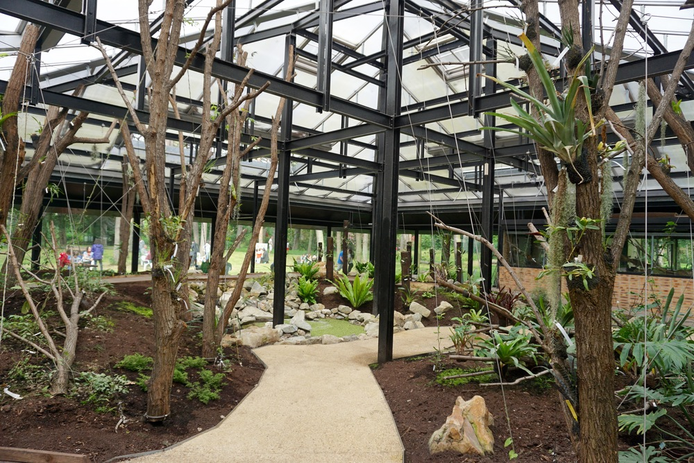 one of the park greenhouses.