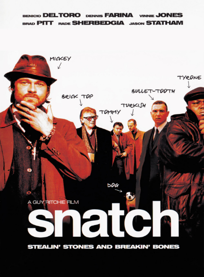 Snatch trailer here.