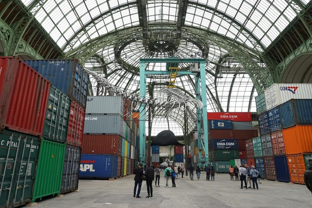 """Huan Yong Ping's """"Empires"""" installation."""