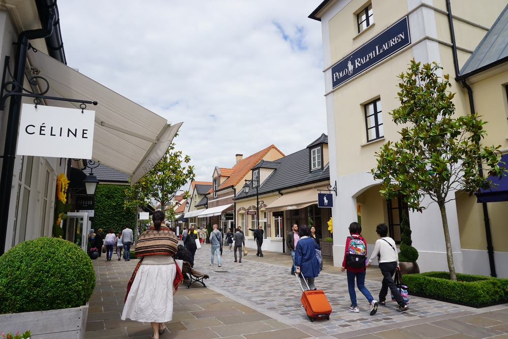 Céline, Loewe, Carven and more at La Vallée Village.
