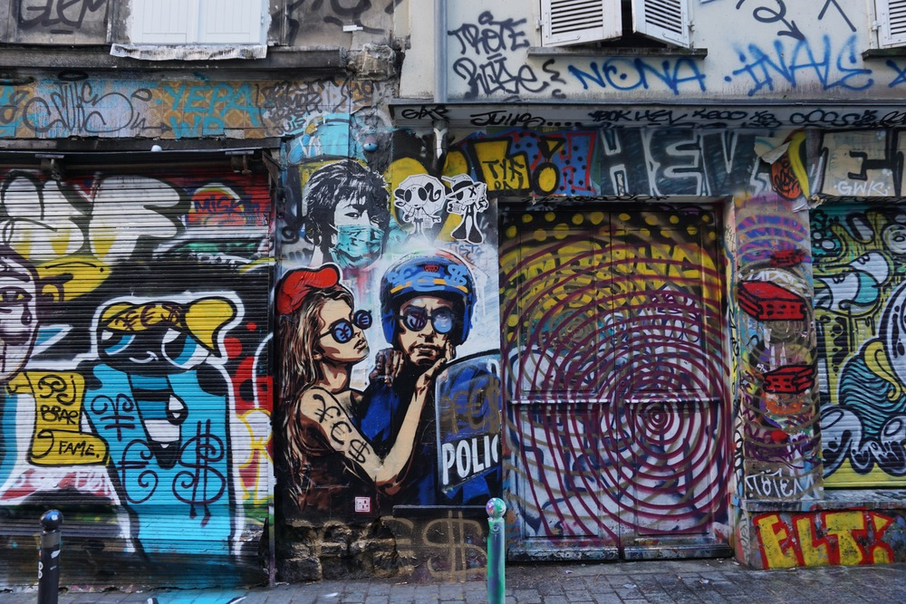 Paris Street Art Walk Belleville And Canal De Lourcq Alex Fox