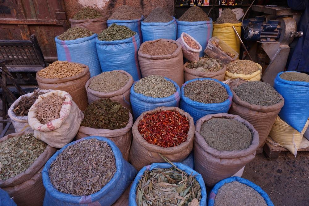 Marrakesh Spice Markets.