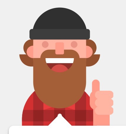 Duolingo lumberjack.