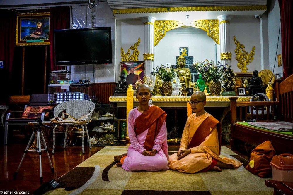 Femmes à Yangon