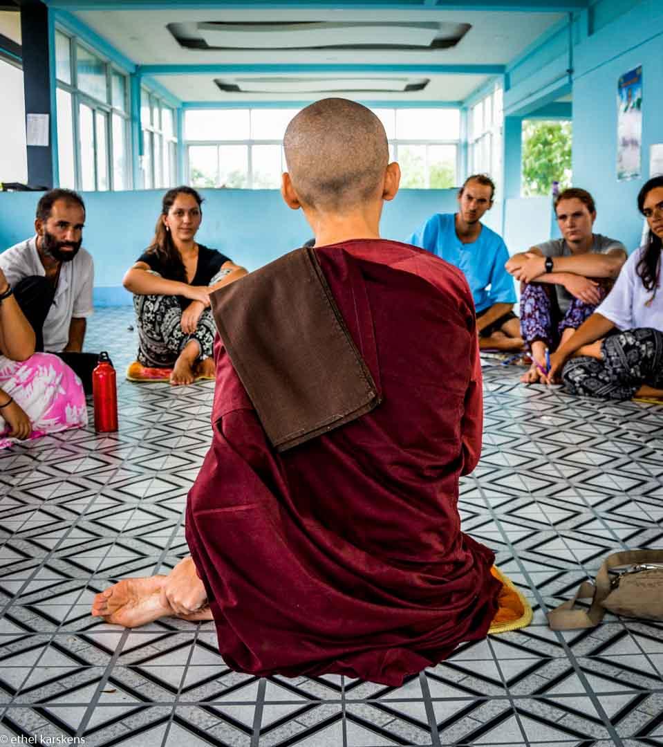 Cours de bouddhisme