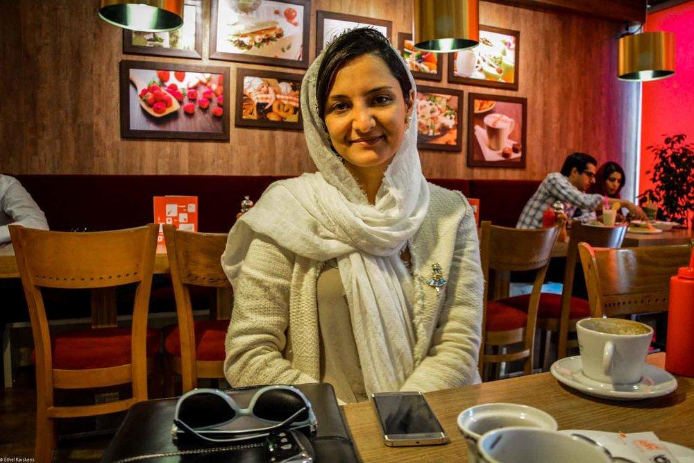 Entrepreneuse iranienne (Nazanin Darneshvar)