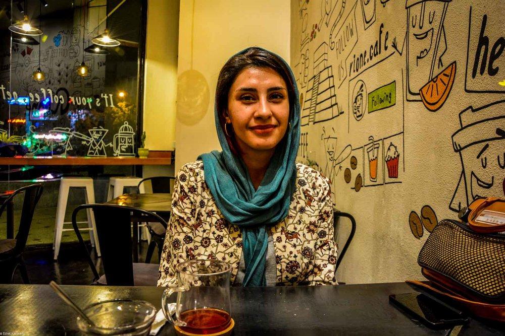 Jeune entrepreneuse à Téhéran (Farnoosh Nik)