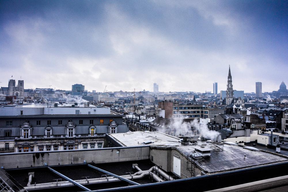Les toits bruxellois