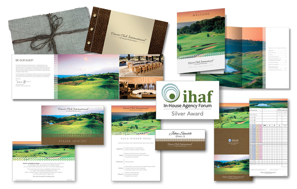 Diners Club Golf campaign