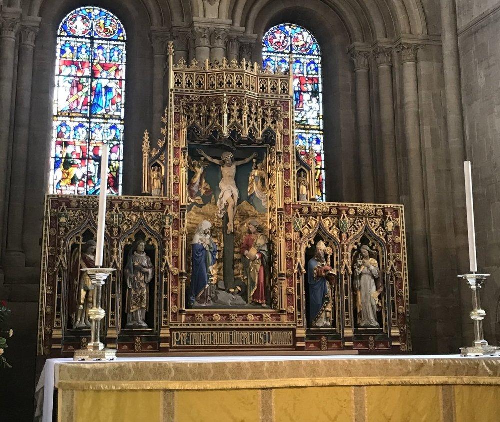 altar at Christ Church, Oxford