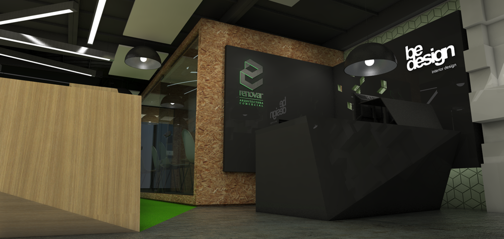 Diseño y proyección oficinas Renovar sas