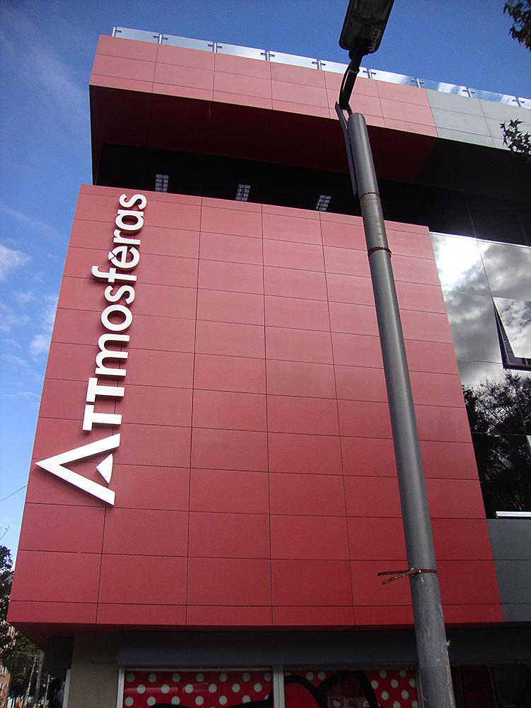 Diseño y proyección punto de venta productos arquitectónicos