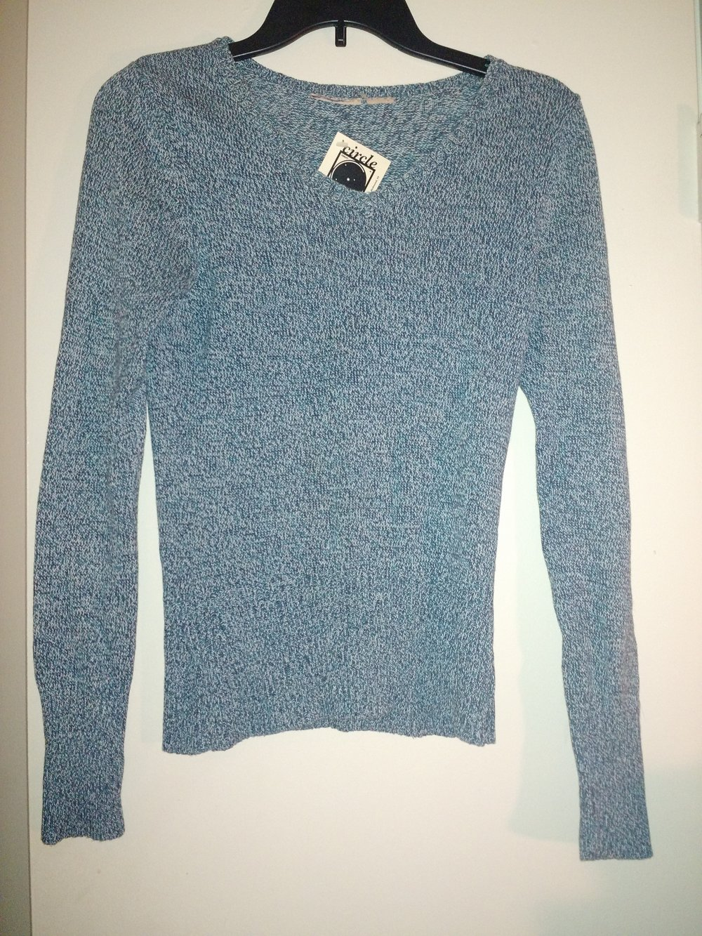 Simple blue sweater for $3