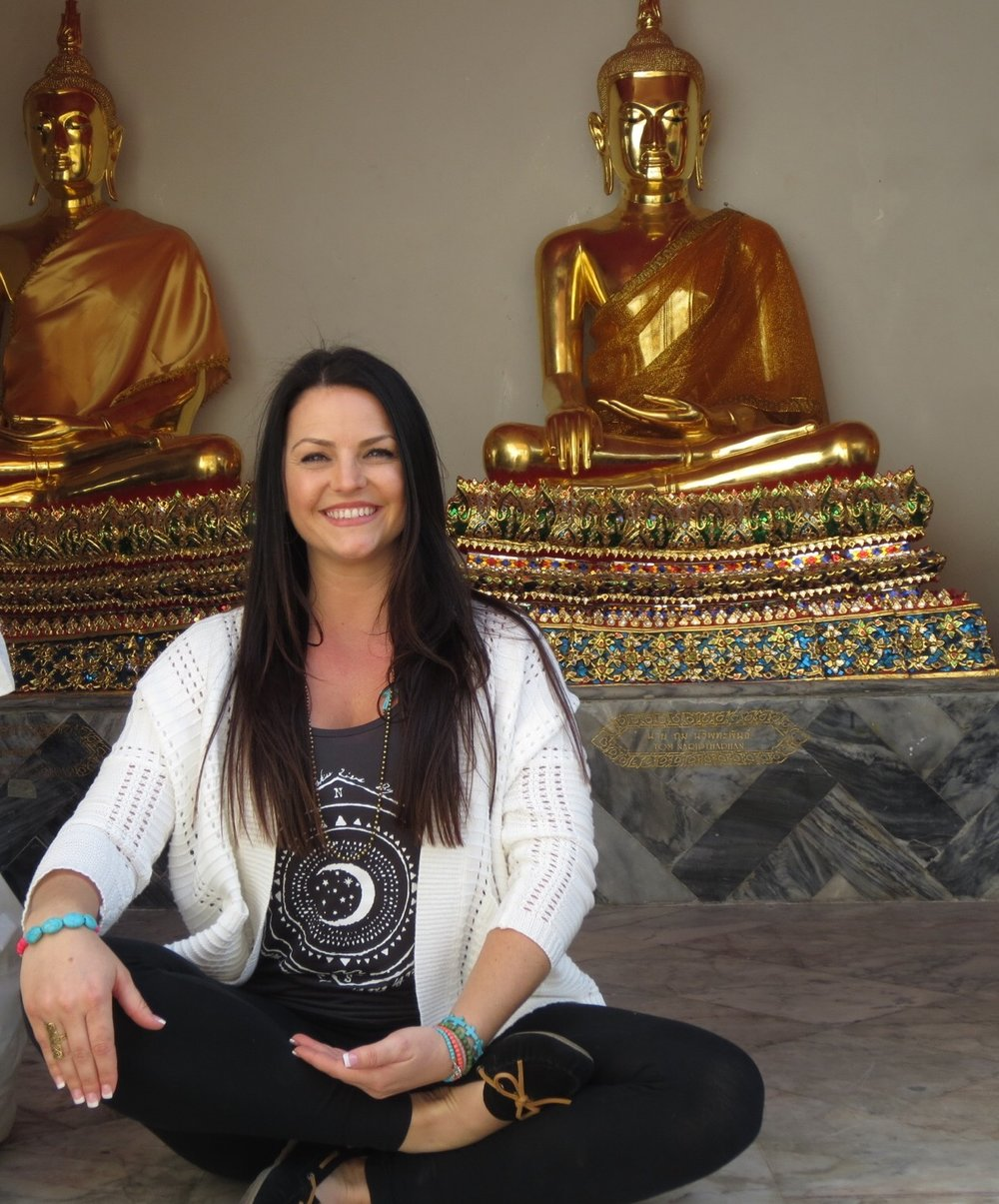 Jessica of Samsara Wellness Center in Bakersfield, California which offers yoga, massage therapy & tattoo services.