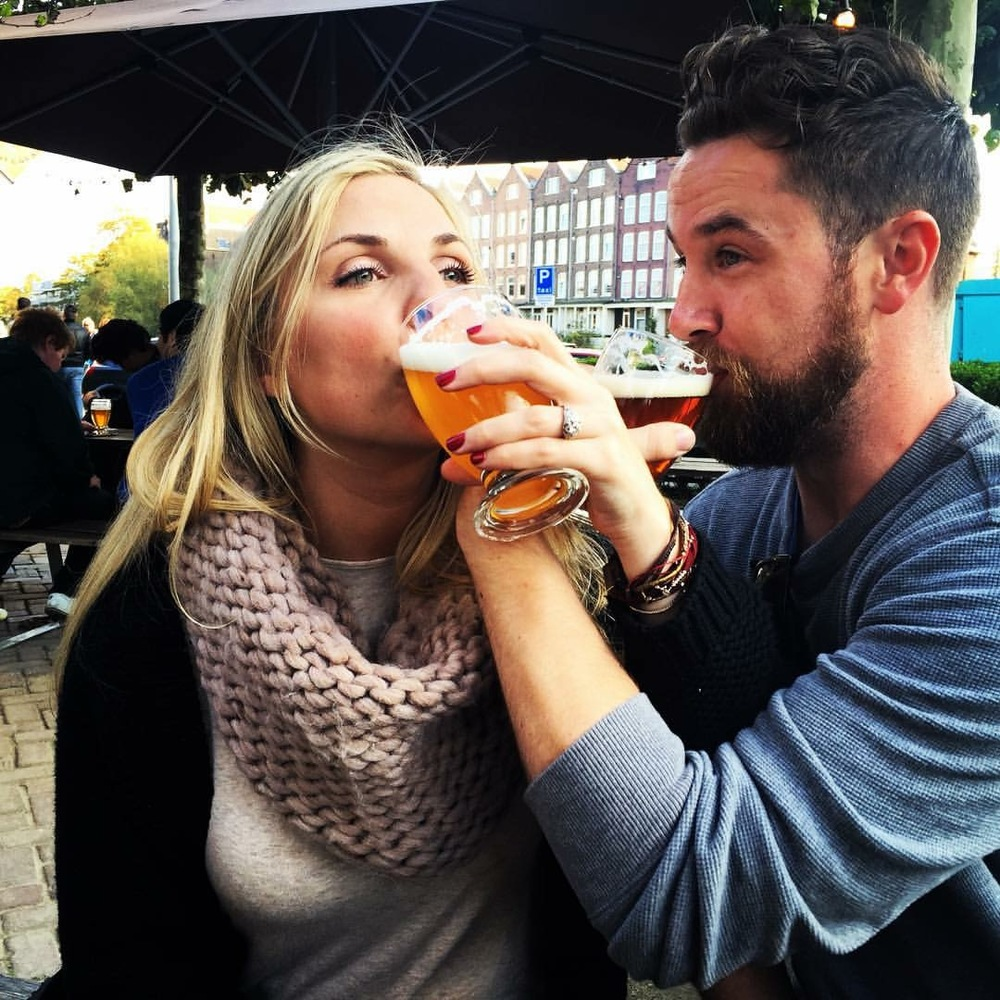 Hamm's on Honeymoon in Amsterdam