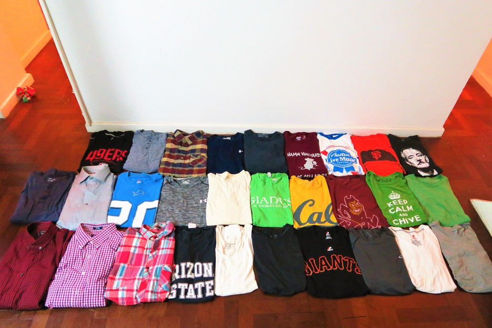 His shirts