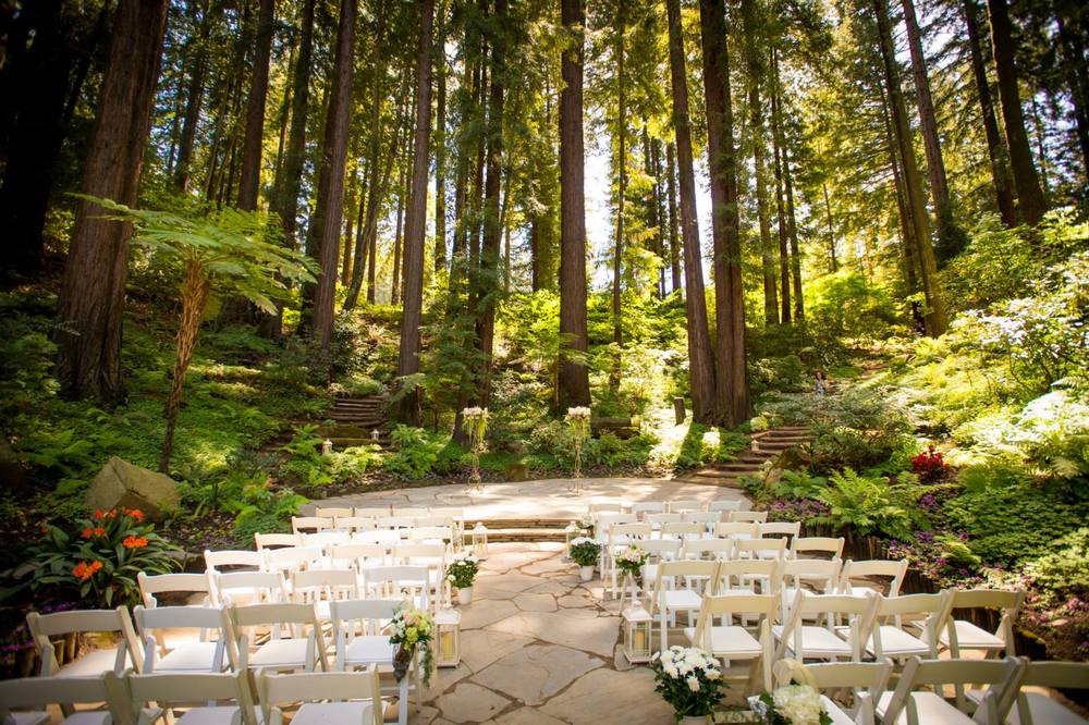 12 redwood wedding venues in the bay area tip top planning for Best california wedding venues