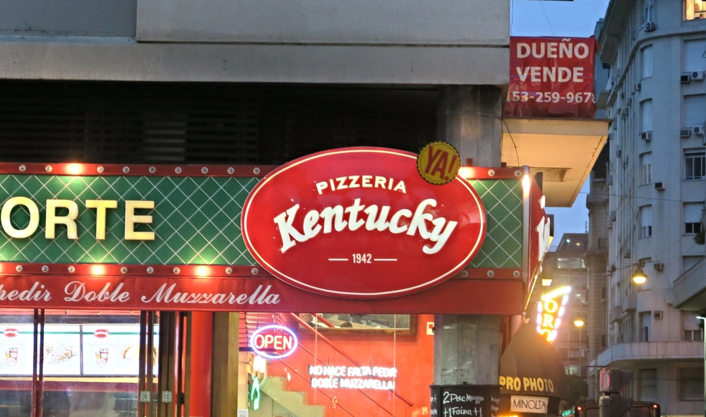 Kentucky is apparently know for their pizza