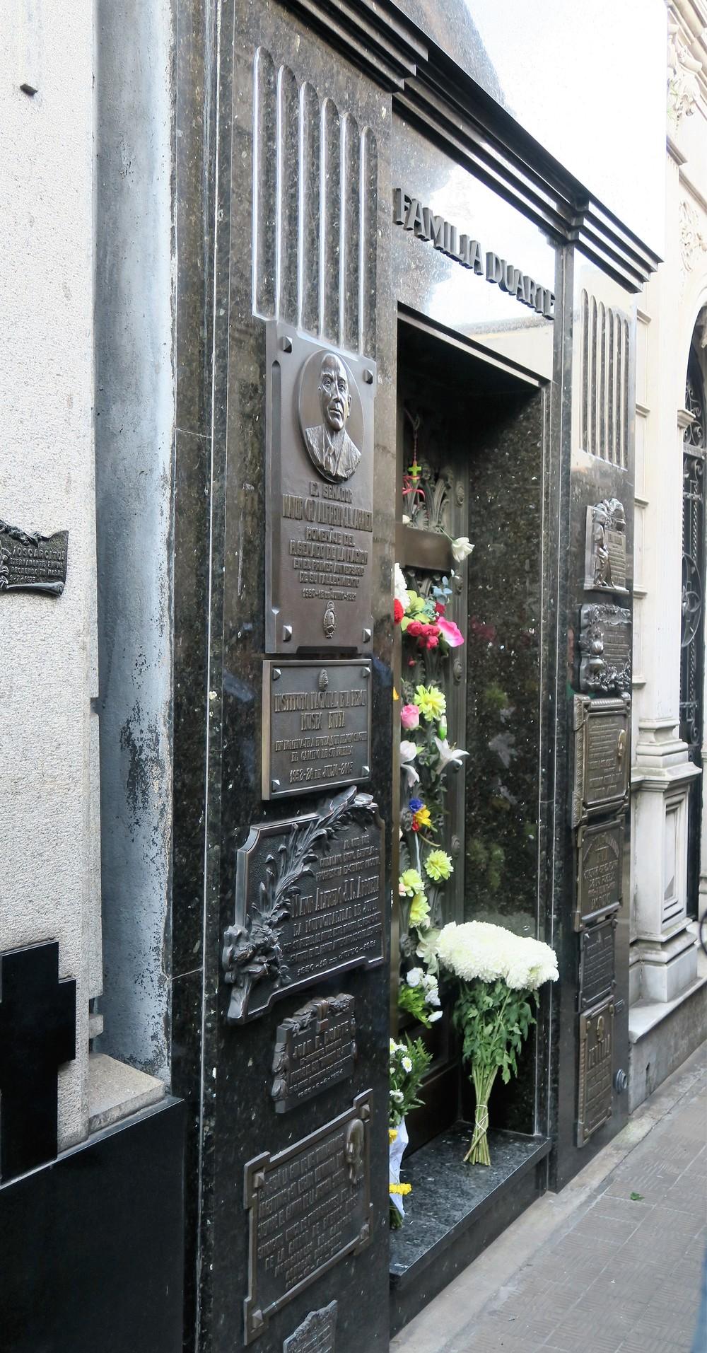 Evita Peron - Recoleta Cemetery - Buenos Aires