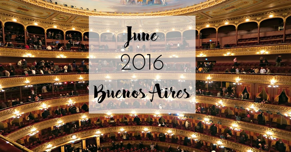 June 2016 Buenos Aires - Tip Top Planning