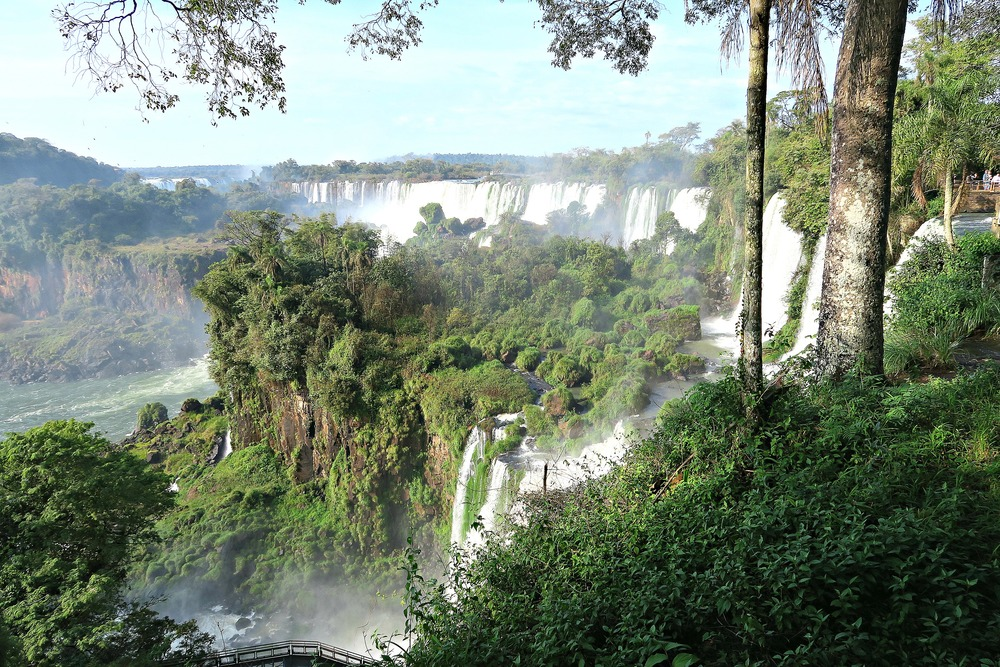 Upper Trail at Iguazu Falls, Argentina - Tip Top Planning