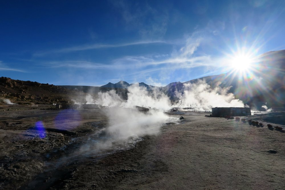 Geyser del Tatio - Valley of the Moon - Valle de la Luna - San Pedro de Atacama - Atacama Desert - Tip Top Planning