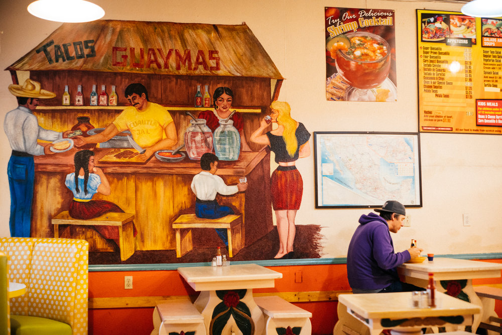 Tacos Guaymas, West Seattle Junction.