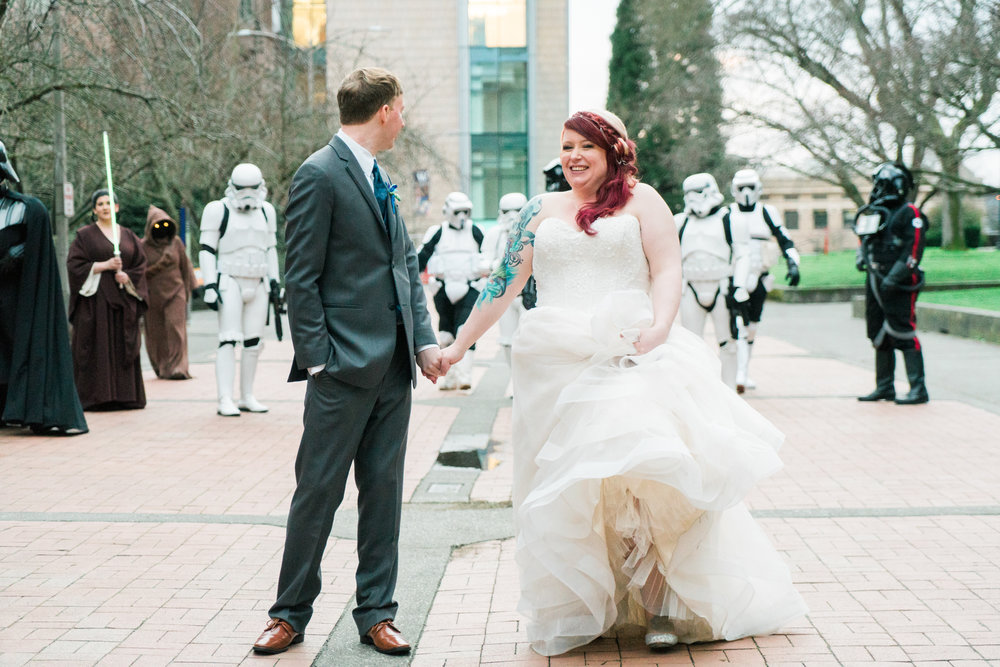 Star Wars: A Wedding Story