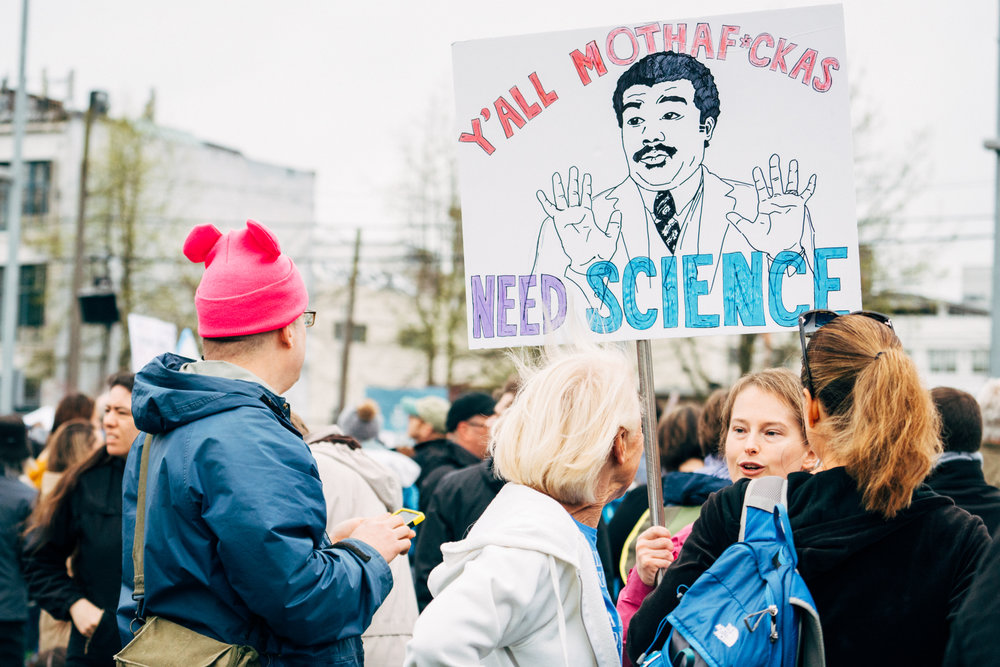 Seattle's March for Science