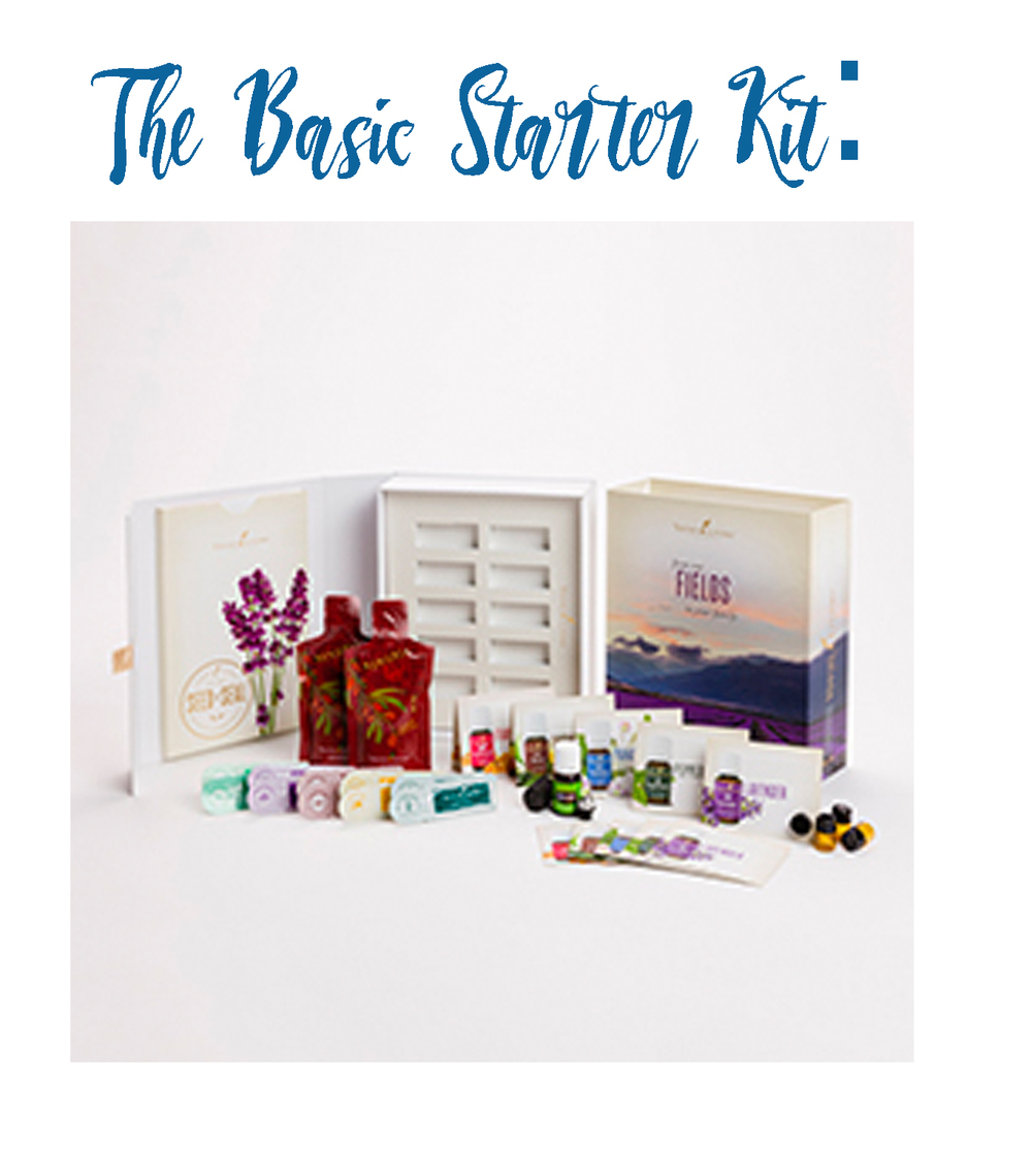 5-ml Stress Away™  AromaGlide™ Roller Fitment  10 Sample Packets  10 Love It? Share It! Sample Business Cards  10 Love It? Share It! Sample Oil Bottles  2 NingXia Red® 2-oz. samples  Product Guide and Product Price List  Essential Oil Magazine  Essential Edge  Member Resources   TO PURCHASE THIS STARTER KIT, BECOME A YOUNG LIVING MEMBER BY CLICKING  HERE.