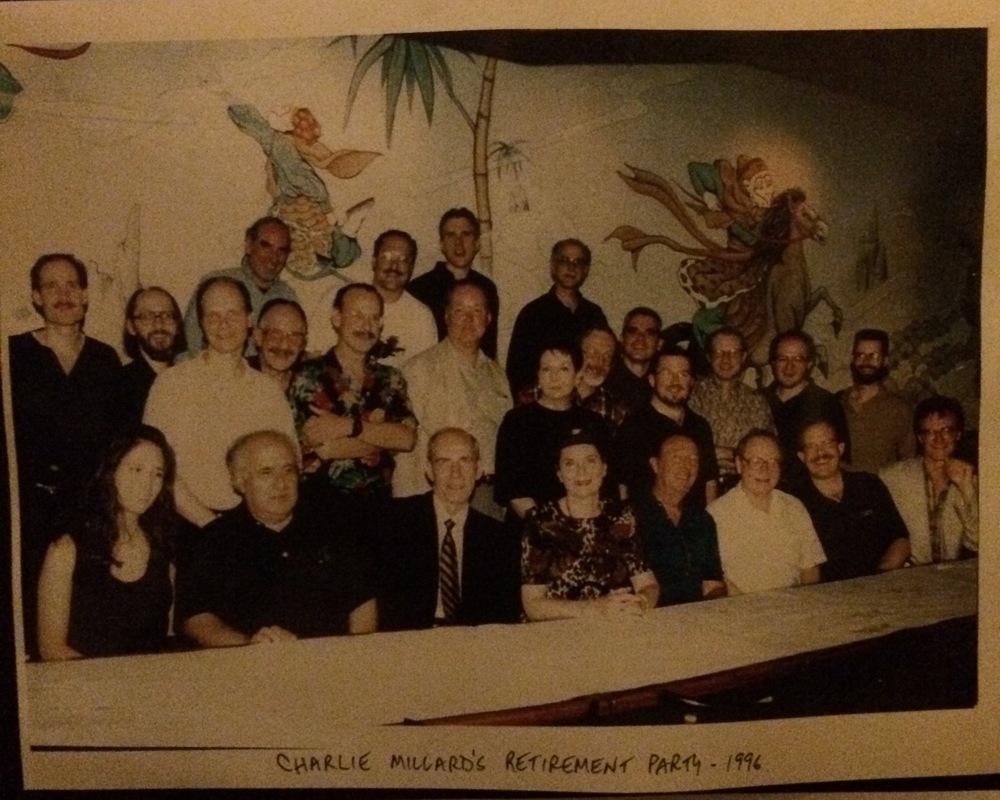 Broadway's Best at Charlie Millard's Retirement 1996