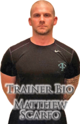 Matt Scarfo | Matthew Scarfo | Full-Time Fitness | Morristown | Personal Trainer | Morristown Gyms | The Club Morristown | Personal Training Headquarters