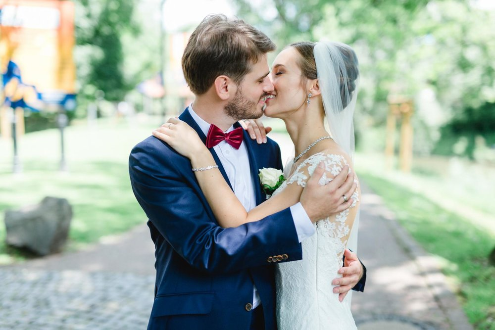 Nadja und Adrian Kurpark Bad Vilbel Hochzeit