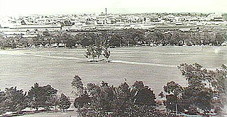 From Montefiore Hill to Adelaide railway station c1900.