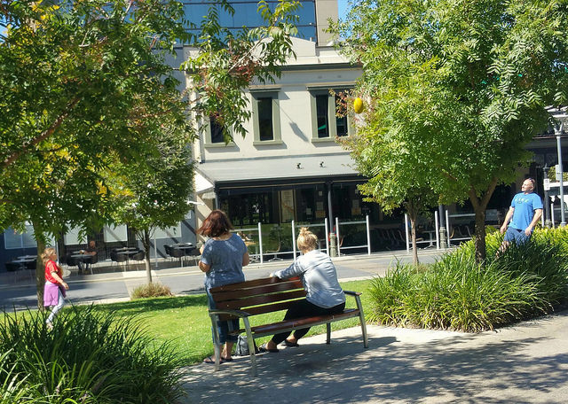 The Hindmarsh Square photo album