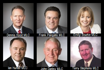- These six members of the Upper House (two Labor, one Liberal, one Conservative, one SA Best and one Advance SA) are holding an inquiry into the stadium's plans.