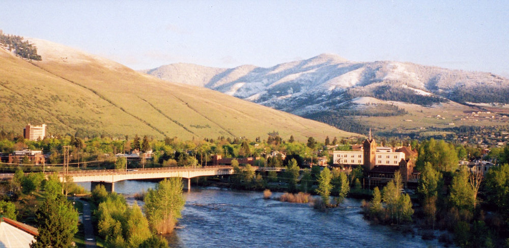 The Clark Fork in Missoula, MT