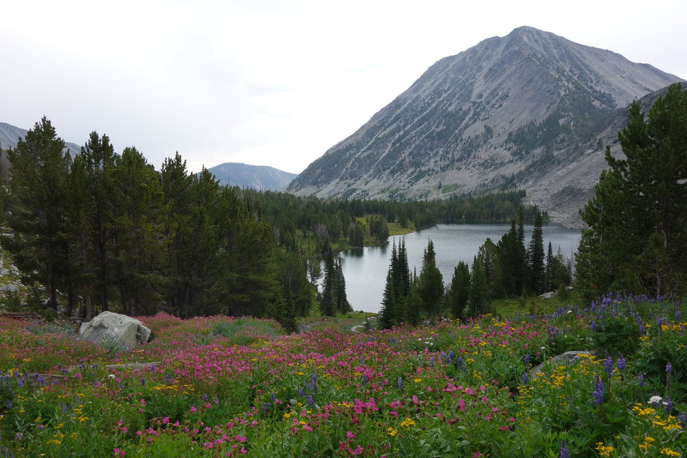 Homer Young's Peak and Little Lake, aka Heaven