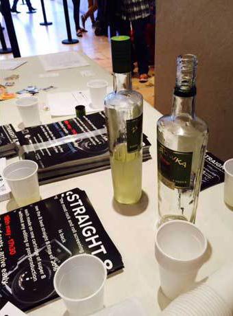 vodka shots straight (8) style