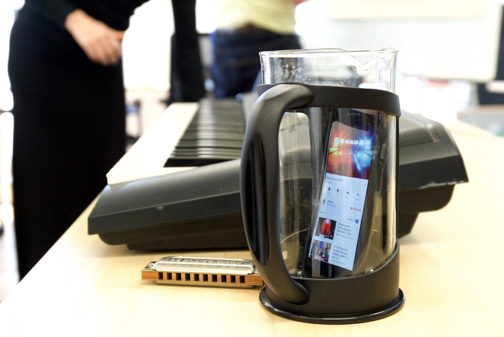 cafetiere amplification